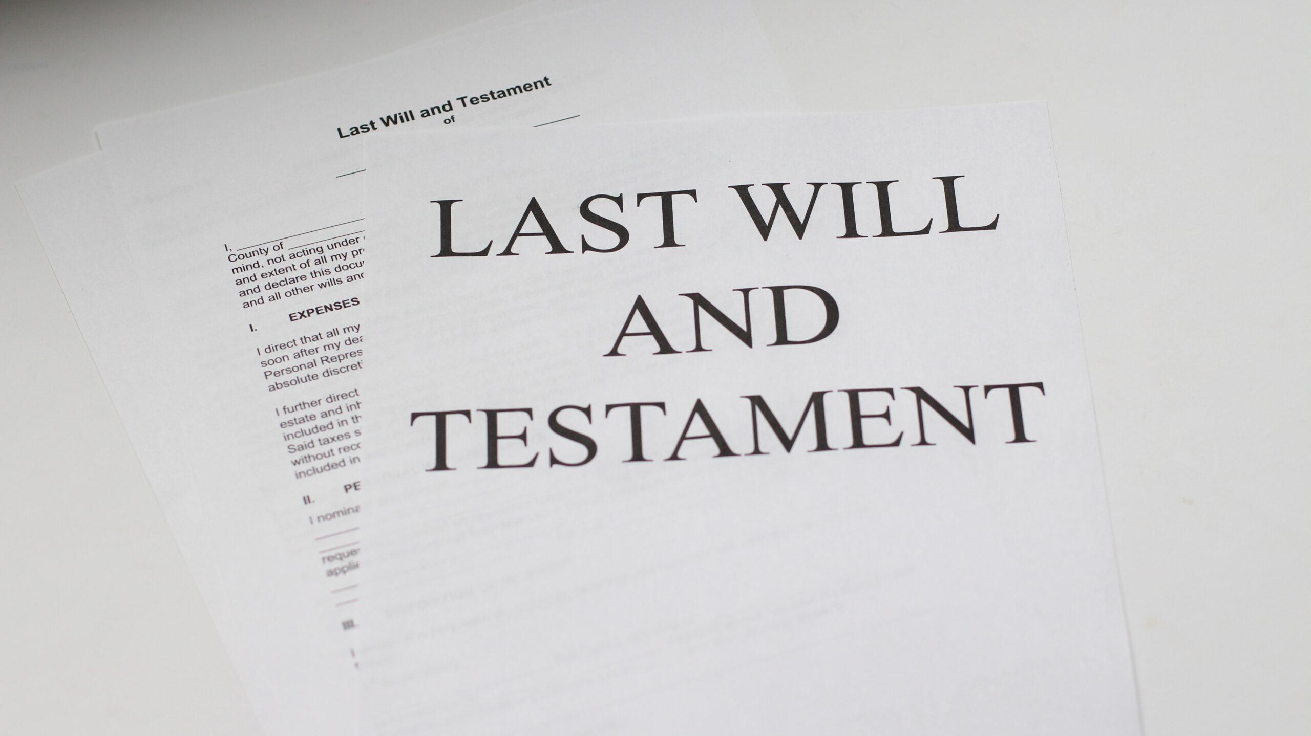 Alguns conceitos antes de realizar um testamento